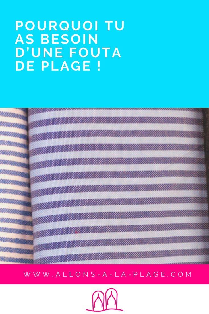 La fouta de plage, qu'est- ce que c'est ? Une serviette? Un plaid? On t'explique pourquoi tu as besoin d'une, et surtout comment tu peux t'en servir!