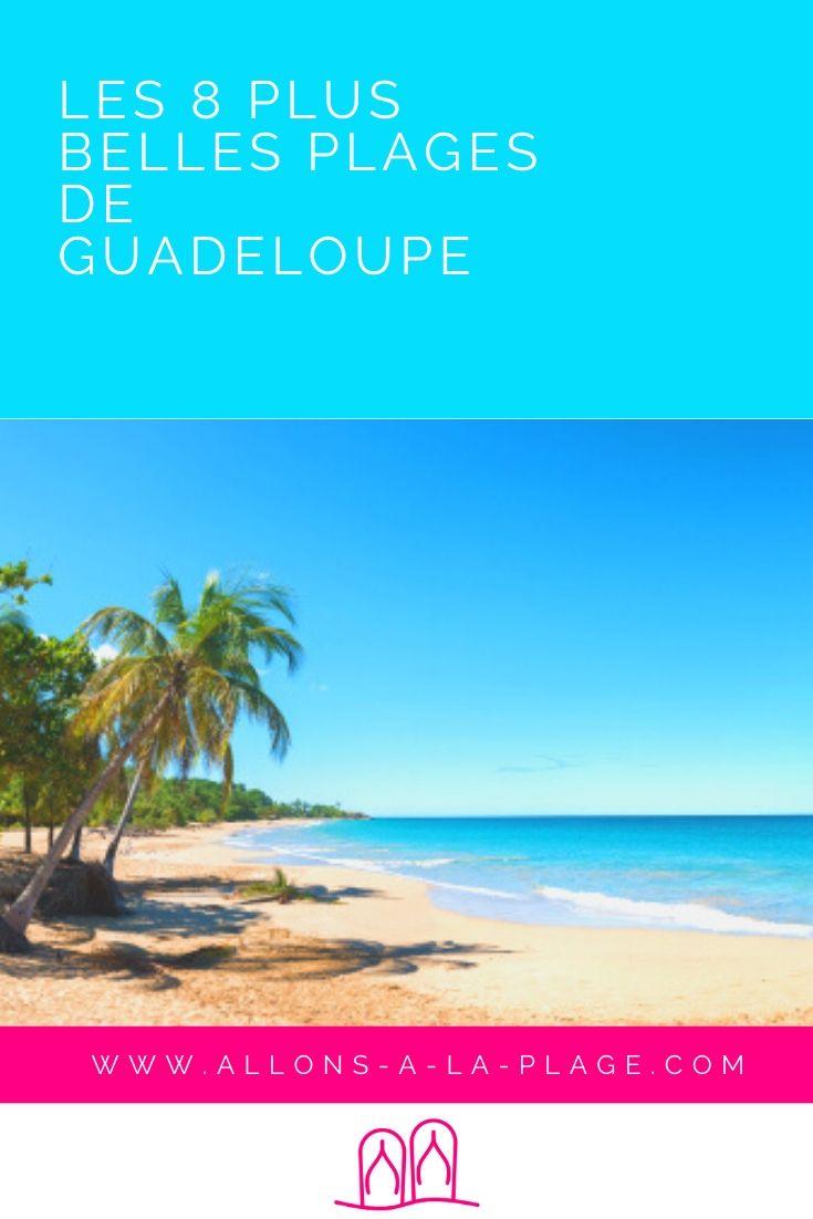 Les plages de Guadeloupe font partie des plus belles plages de la Caraïbe, voire du monde. En famille ou entre amis, d'huile ou sauvage, il y a pour tous !