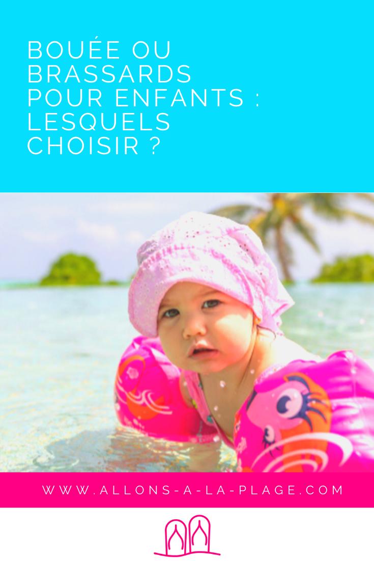 Bouées, brassards, maillots flottants ou encore frite de piscine, comment choisir le bon produit? On t'aide à trouver le modèle le mieux adapté à ton enfant.
