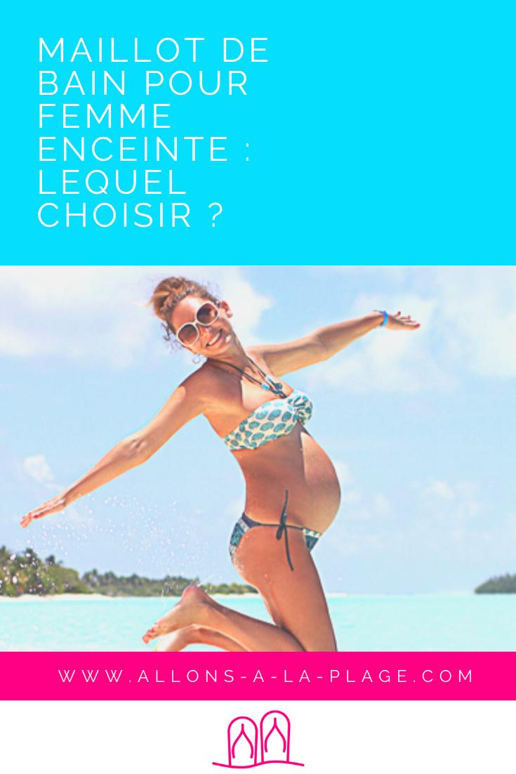 Le tankini est de loin le meilleur maillot de bain pour profiter de la plage pendant sa grossesse. Élégant et à la mode, il sublime la femme enceinte.