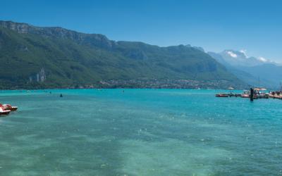 Top 3 des plages des lacs de Haute-Savoie