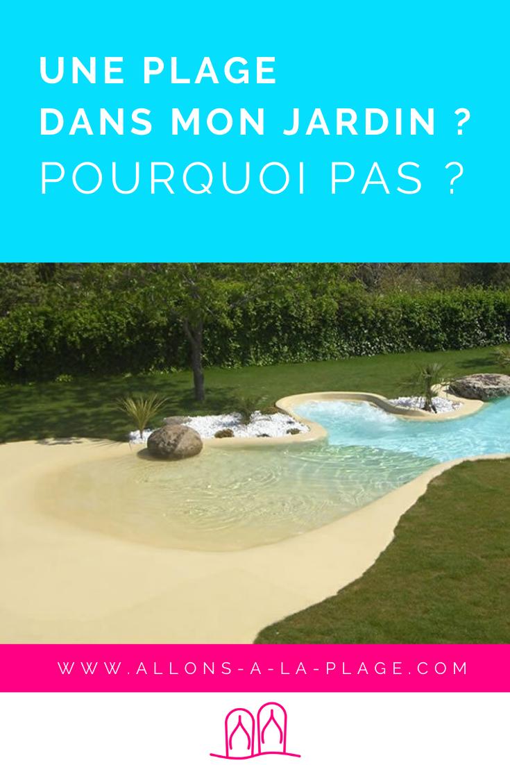 Avis aux amoureux de la nature : une plage dans votre jardin ça vous tente? Eh bien c'est possible! Zoom sur cette piscine hors norme.